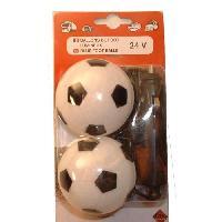 Objets Lumineux D Interieur Lot de 2 ballons de foot lumineux - 24V