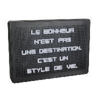 Objets Lumineux D Interieur WORD Tableau a message lumineux - 200 Lettres - Noir