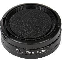 Oculaire - Filtre Camescope GP171 Polariseur a filtre integral Diametre 37 mm - Pour GoPro
