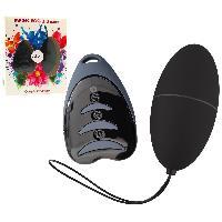Oeufs Vibrants Oeuf Telecommande Magic Egg 3.0 Noir