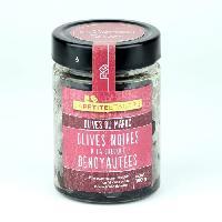 Olive LA PETITE ETAGE Olives noires a la grecque dénoyautées - 200 g - La Petite Etagere