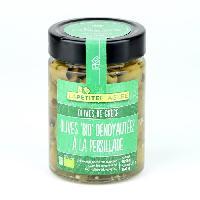 Olive LA PETITE ETAGERE Olives dénoyautées a la persillade Biologique - 150 g