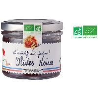 Olive Olives Noires - Bio - Tartinable - 100 g