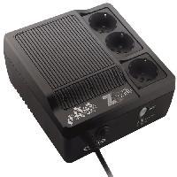 Onduleur INFOSEC Onduleur haute frequence Z1 Zenergy Cube EX 400 - 400 VA 3 Prises FR-SCHUKO