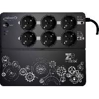 Onduleur INFOSEC Onduleur haute frequence Z3 ZenBox EX 500 - 500 VA 6 Prises FR-SCHUKO