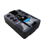 Onduleur INFOSEC ZEN X Onduleur Line Interactive 800 VA 6 Prises FR-SCHUKO - 1 chargeur USB - 1 port USB