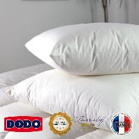 Oreiller DODO Oreiller ELITE 100% Percale de Coton Confort Medium 60x60cm Aucune