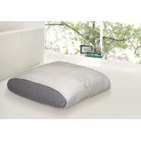 Oreiller Oreiller mousse a memoire de forme Juno confort soft 60x60 cm blanc