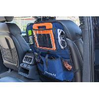 Organiseur De Siege - Poche De Rangement Organiseur pour siege - Rangement convenant a tous les vehicules - Bleu