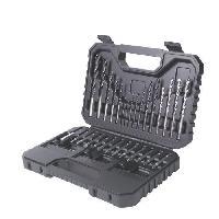 Outil A Main BLACK & DECKER Coffret d'outils de perçage vissage 50 pieces
