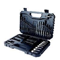 Outil A Main BLACK & DECKER Coffret perçage vissage 80 pieces