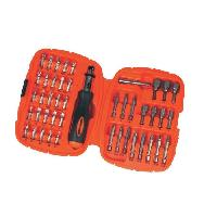 Outil A Main BLACK & DECKER Ensemble pour vissage 45 pieces