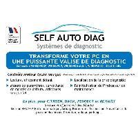 Outil De Diagnostic Valise diagnostic auto ULTIMATE DIAG ONE - Interface diagnostique multimarque OBD et logiciel SELF AUTO DIAG distribue sur CD-ROM