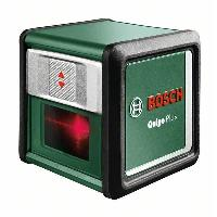Outil De Mesure Laser ligne en croix Bosch -  Quigo + (Portée 7 m. livré avec piles. trépied 1.1m et coffret)