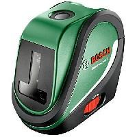 Outil De Mesure Laser lignes Bosch - UniversalLevel 2 (Livré avec piles et poche. portée 10m. mise a niveau auto)