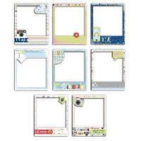 Outil Scrapbooking - Quilling - Grattoir - Plioir - Pique - Rainureuse Pack de 8 Polaroids Be Connected