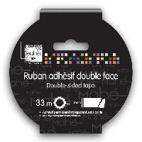 Outil Scrapbooking - Quilling - Grattoir - Plioir - Pique - Rainureuse Ruban Adhesif Double Face Dechirable - 33m