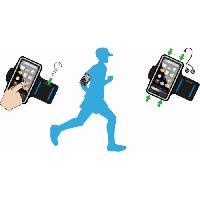 Outillage De Camping CAO CAMPING Brassard Smartphone - Noir