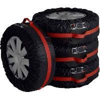 Outillage Roues Housses a pneus 17 a 19p -x4-