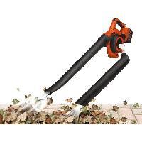 Outils D'exterieur - De Jardin BLACK & DECKER Aspirateur souffleur  36V Sans Fil Sans Batterie GWC3600LB