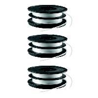 Outils D'exterieur - De Jardin BLACK & DECKER Lot de 3 bobines Reflex Plus A6495