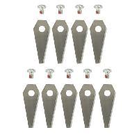 Outils D'exterieur - De Jardin JARDIN PRATIC 9 lames 1108592 pour robots sous blister Aucune