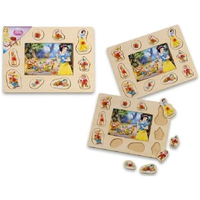 PRINCESS-DISNEY-Puzzle-en-bois-6-10-pieces-Mgm