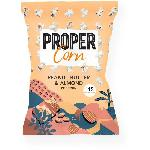 PROPERCORN Popcorn Beurre de Cacahuete et Amandes - 90 g