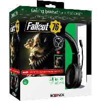 Pack Accessoire Jeux Video Casque MS-400 + Fallout 76 sur Xbox One
