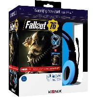 Pack Accessoire Jeux Video Casque PS-400 + Fallout 76 sur PS4