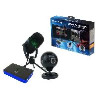Pack Accessoire Jeux Video Stream Pack Universal Pro Gaming e-sport pour PS4. Xbox One. Switch. PC...