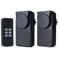 Pack Domotique Kit 2 prises telecommandees pour usage exterieur et interieur