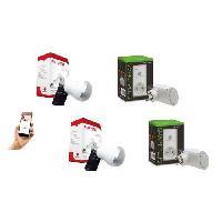 Pack Domotique NEW DEAL Pack de 2 prises connectees WiFi Speco+ et 2 ampoules musicales ZicLed W11