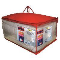Pack Linge De Lit Pack ONTARIO - 1 couette chaude 240x260 cm et 2 oreillers 60x60 cm blanc