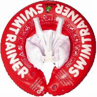 Pack Materiel Eveil Freds Swim Academy Bouée bébé Swimtrainer Rouge 3 mois a 4 ans