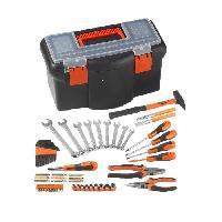 Pack Outil A Main Boite a outils 16 42 cm avec 57 accessoires