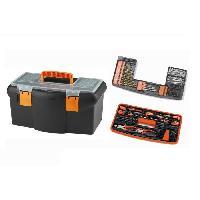 Pack Outil A Main Boite a outils 18 45 cm avec 75 accessoires + 95 chevilles et vis