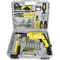 Pack Outil A Main Coffret a 75 outils + perceuse a percussion - 810 W