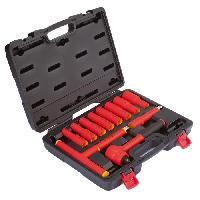 Pack Outil A Main Coffret d'outils d'electricien - 12 pieces