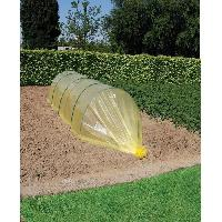Paillage - Voile - Protection Culture Film de forçage maraîcher-LDPE jaune-70µ-2.50x10m - Nature