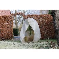 Paillage - Voile - Protection Culture NATURE Housse d'hivernage 70 g/m² - Ø 150 cm x 2.00 m - Beige