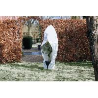 Paillage - Voile - Protection Culture NATURE Housse d'hivernage 70 g/m² - Ø 200 cm x 2.50 m - Blanc