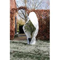 Paillage - Voile - Protection Culture NATURE Housse d'hivernage 70 g/m² - Ø 250 cm x 3.00 m - Blanc