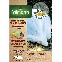 Paillage - Voile - Protection Culture VILMORIN Film de croissance perforé en farine de céréales - 2 x 4 m