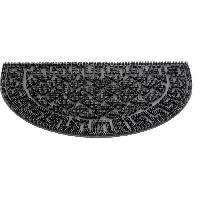 Paillasson - Decrottoir Paillasson a motifs - 40x60 cm - Style Classique - Coloris Noir