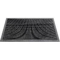 Paillasson - Decrottoir Paillasson uni - 60x100 cm - Style Classique - Coloris Noir