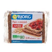 Pain Precuit BJORG Pain Complet Avoine Bio - 500 g