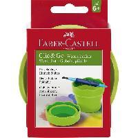 Palette Peinture Gobelet Clic et Go - Vert clair