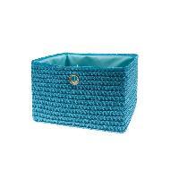 Panier - Casier - Corbeille - Tiroir - Porte Pour Meuble A Case FRANDIS Panier de rangement 24 X 23 X 16 cm Bleu