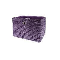 Panier - Casier - Corbeille - Tiroir - Porte Pour Meuble A Case FRANDIS Panier de rangement 33x26x23 cm Violet